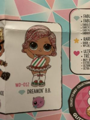 Lol surprise doll Dreamin B.B for Sale in Willowbrook, IL