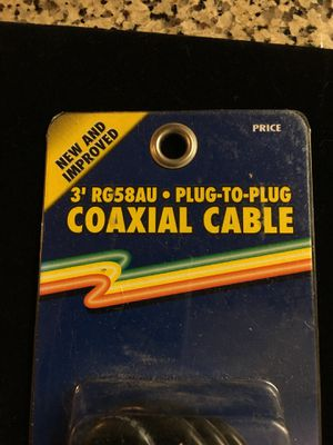 300-501. Barjan made coax cable extension for Sale in Garden Grove, CA