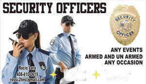Guardia de seguridad for Sale in Gilroy, CA