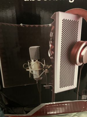 sound reflection absorbing wall mic for Sale in Carlsbad, CA