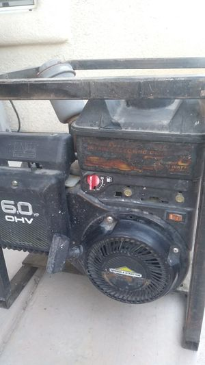 Powermate portable electric generator for Sale in Las Vegas, NV