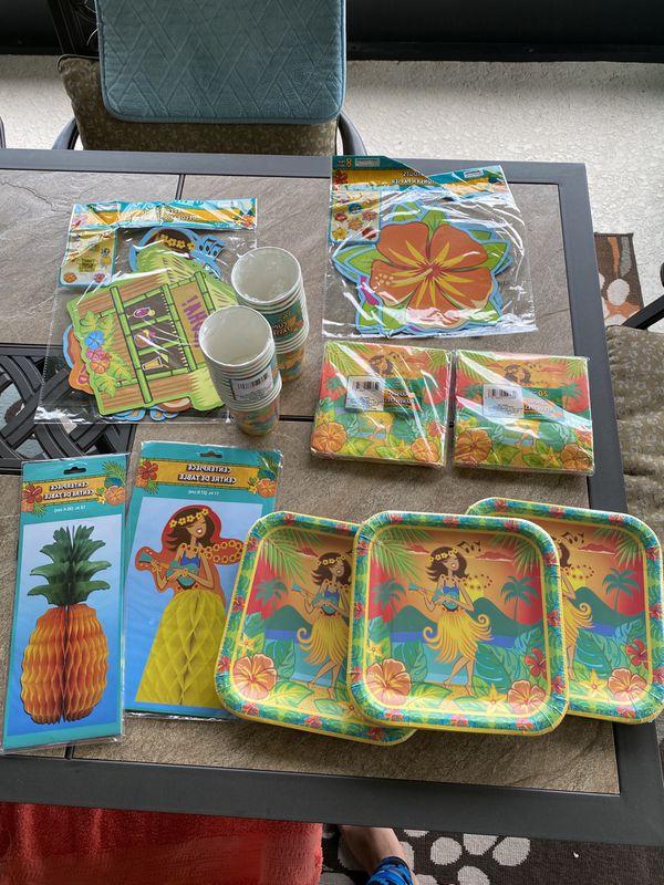 Hawaiian party supplies