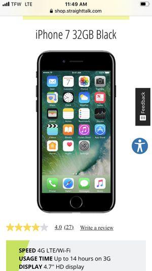 Straight talk iPhone 7 for Sale in Nashville, TN