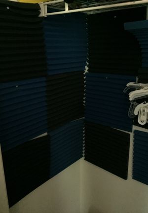 12 piece sound proof BLUE AND BLACK for Sale in Baltimore, MD