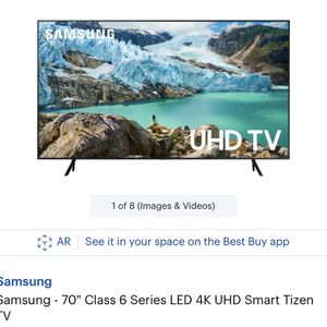 "70"" Smart Samsung Tv for Sale in Buffalo, NY"