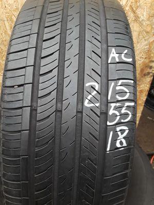 215/55-18 #1 tire for Sale in Alexandria, VA