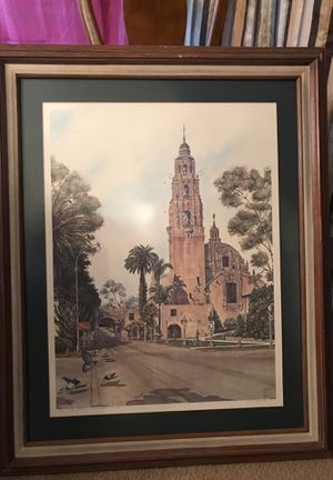 Painting in balboa park for Sale in Seattle, WA