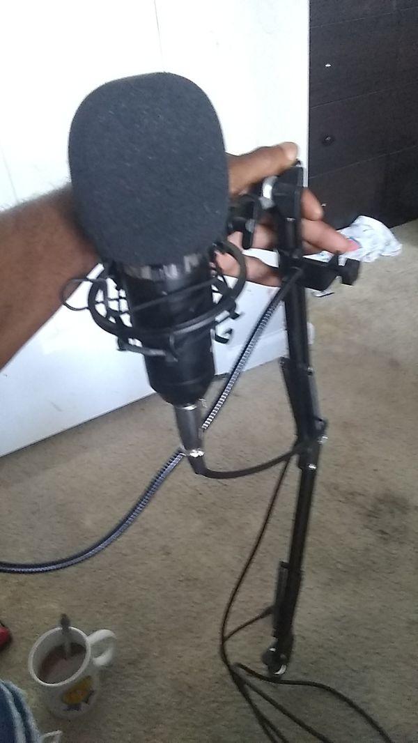 Recorder mic zingyou bm_ 800