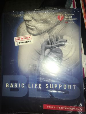 Basic life support (CPR) Book unopened for Sale in Lexington, KY