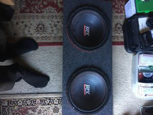 Two 10s or 12s speaker MTX Audio new for Sale in Tacoma, WA