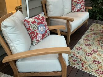 Teak Outdoor Sofa With Rocking Chair for Sale in Kenmore,  WA