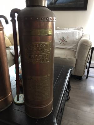 Old brass fire extinguishers for Sale in Edgewood, WA