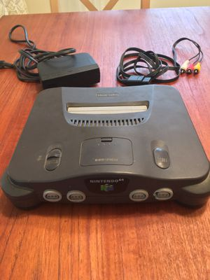 Nintendo 64 (console, controller + super memory card 1000, games) for Sale in West McLean, VA