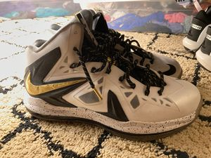 Nike LeBron 10 PS Elite Championship (Size 11) for Sale in Tacoma, WA