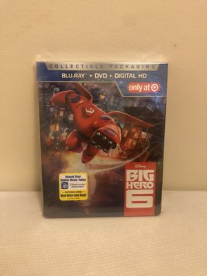 Disney Big Hero 6 (Blu Ray/DVD 2-Disc Set) for Sale in Brooklyn, NY