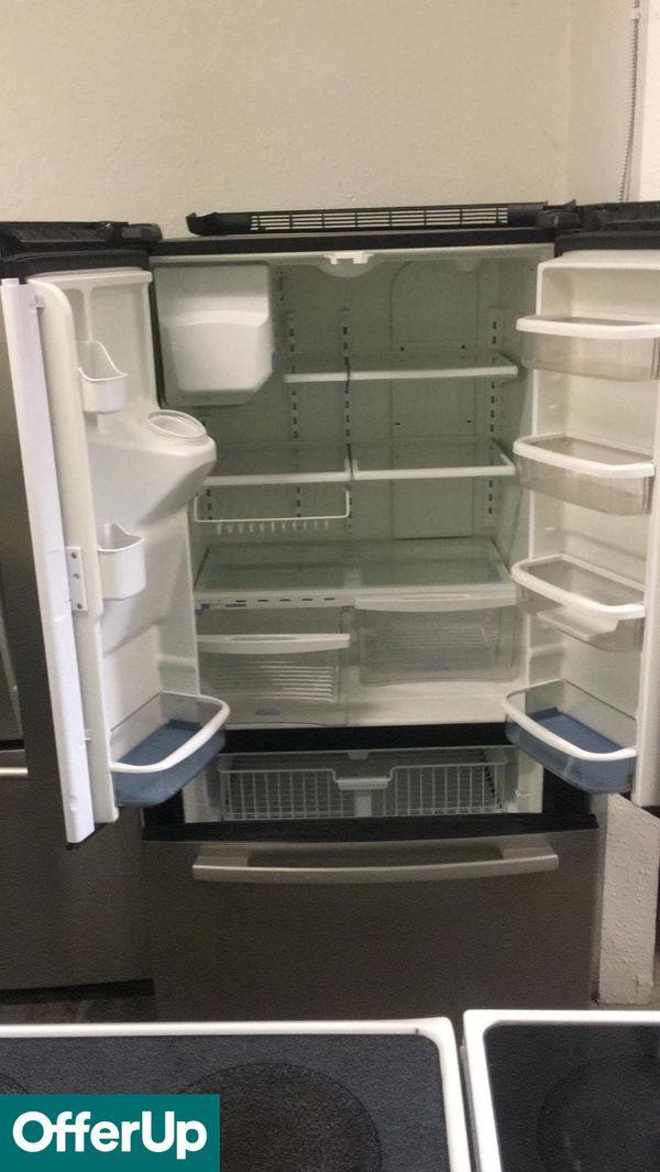 Liquidation Whirlpool French Door 3 Door Refrigerator