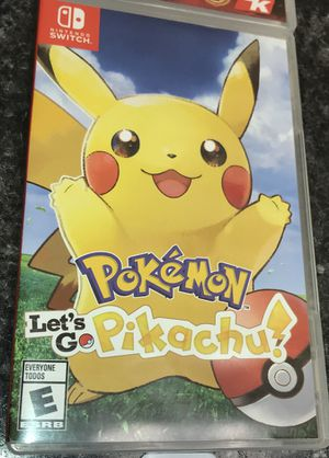Let's go pikachu for Sale in Kissimmee, FL