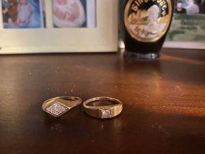 Two gold ring sets for Sale in Willis, TX
