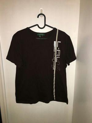 Ralph Lauren Brown T Shirt Women's size large for Sale in Springfield, VA
