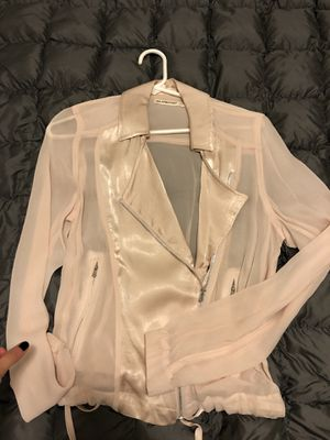 BlankNYC Baby Pink Sheer Jacket for Sale in Arlington, VA