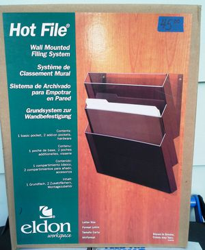 Eldon Hot File Wall Mounted Filing System NEW!! for Sale in Champaign, IL