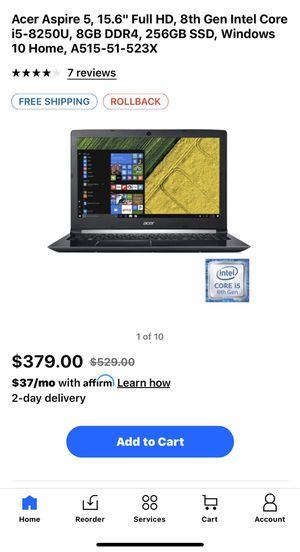 Laptop Acer Aspire for Sale in Miami, FL