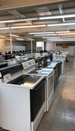 Reconditioned Appliances for Sale in Portsmouth, VA