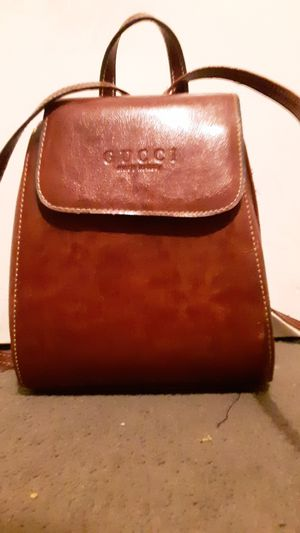 Gucci brown leather bag for Sale in Salt Lake City, UT