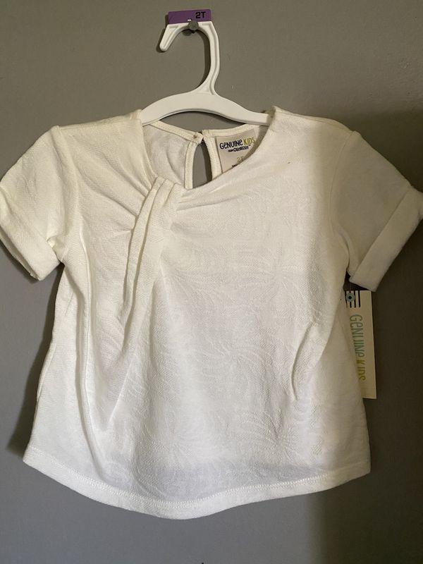 Oshkosh toddler white shirt