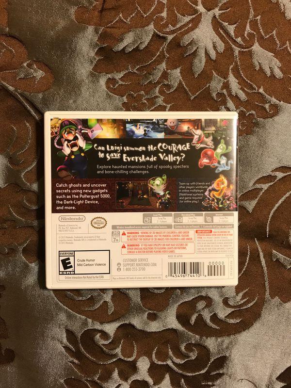 Luigi's Mansion Dark Moon/ Super Mario bros 2.