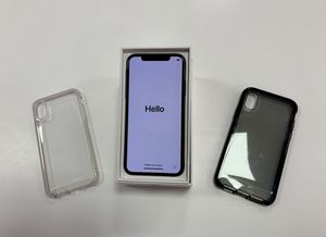 IPHONE X 64GB ( T-Mobile ) with new cases and glass screen protector for Sale in Chicago, IL