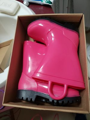 Rain boots toddler for Sale in Red Oak, TX