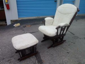 Dutailier Modern Glider w/Ottoman - Retails > $500! for Sale in Raleigh, NC