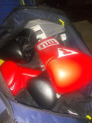 Gym bag full of boxing equipment for Sale in Kansas City, MO