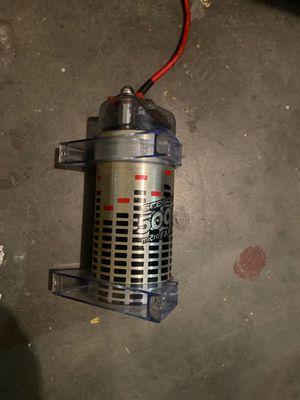 Scosche 500k power capacitor for Sale in Lathrop, CA