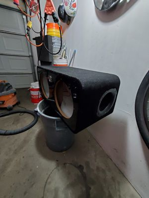 Bassworx sub box for 12's for Sale in Denver, CO