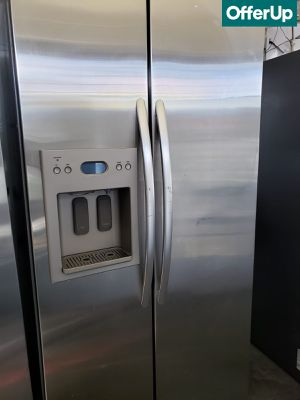 🚚💨Side by Side KitchenAid Refrigerator Fridge #1171🚚💨 for Sale in Rialto, CA