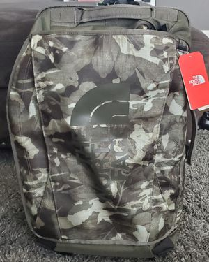 "North Face 22"" Rolling Duffle Bag Travel Suitcase Backpack Carry On for Sale in Turlock, CA"