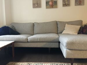 Room and board jasper sectional couch for Sale in Brooklyn, NY