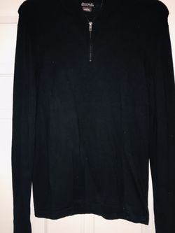Michael By Michael Kors Men's Small Black Sweater ( Half-zip Up ) for Sale in Columbia,  TN