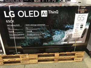 LG 65 inch OLED 4K TV 2020 model CX oled65Cx for Sale in Los Angeles, CA