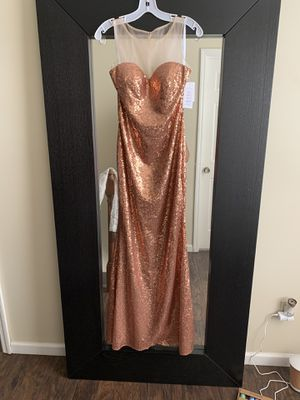 Copper / Rose Gold Sequin dress for Sale in Florissant, MO