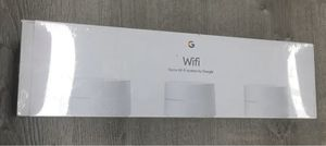 New/Sealed Google Mesh WiFi System 3 Pack for Sale in Lakeville, MN