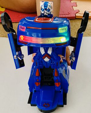 Captain america transform robot for Sale in Hoffman Estates, IL
