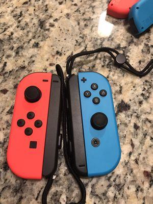 Nintendo switch joycons (L) (R) Neon red/Neon blue for Sale in Brockton, MA