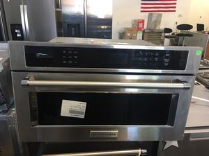 KitchenAid built in microwave for Sale in San Luis Obispo, CA