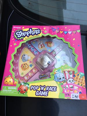 Shopkins Pop n' Race Game for Sale in San Francisco, CA
