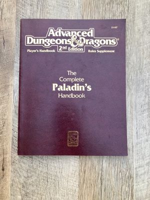 2nd edition The complete Paladins Handbook for Sale in Enterprise, NV
