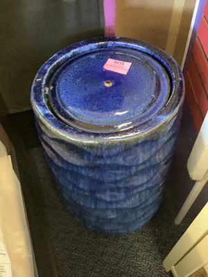 Blue Water Fountain ( Does Not Come W/ A Pump) for Sale in Virginia Beach, VA
