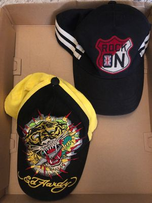 Boy EdHardy Tiger and Gymboree Rock On Hats for Sale in San Dimas, CA